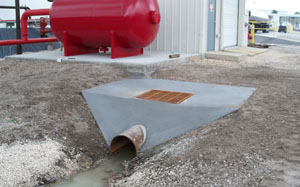 Culvert at new commercial location